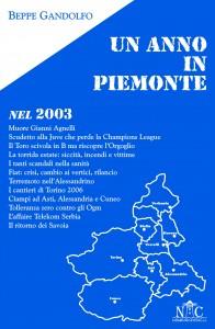 Un anno in Piemonte nel 2003