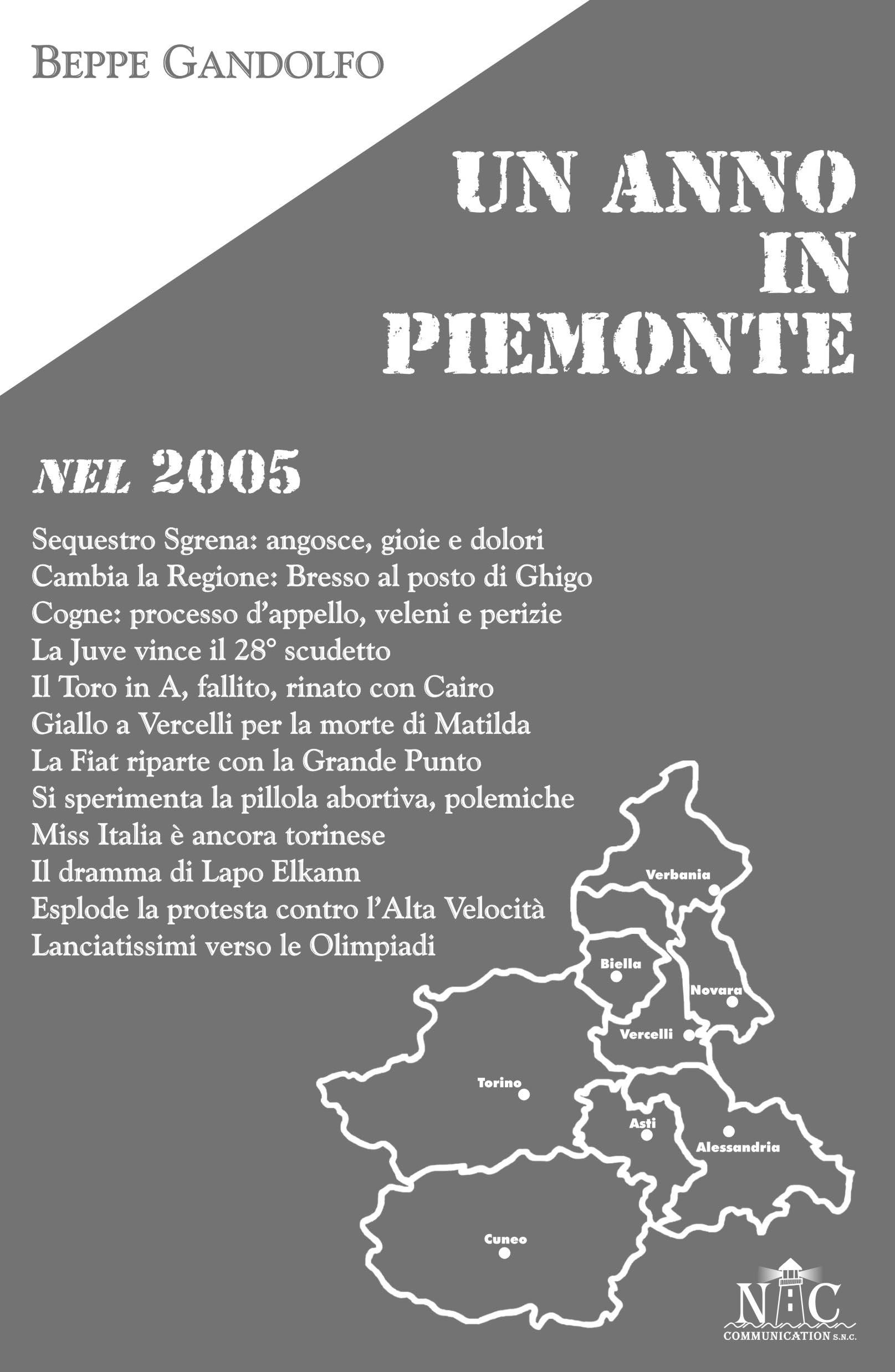 Un anno in Piemonte nel 2005